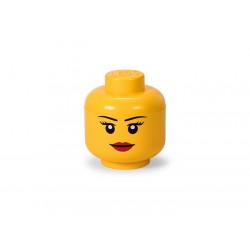 Cutie depozitare S cap minifigurina LEGO fata 40311725