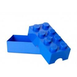 Cutie sandwich LEGO 2x4 - Albastru