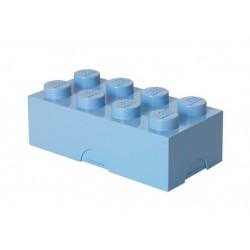 Cutie sandwich LEGO 2x4 - Albastru deschis