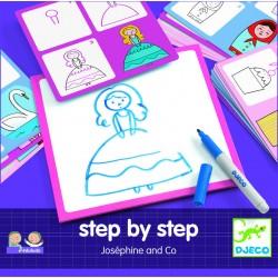 Desenează pas cu pas pentru fete