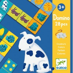 Domino animale si culori Djeco