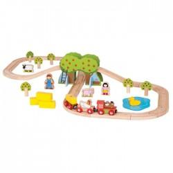Trenuletul de la ferma - BigJigs