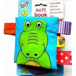 Carticica moale Jungle - Soft Book