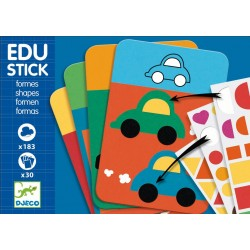 Stickere educative cu forme geometrice Edu-Stick Djeco
