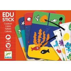 Stickere educative Culori Edu-Stick Djeco