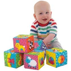 Cuburi amuzante pentru bebelusi - Animalute