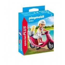 Fata cu scooter - Playmobil