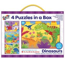 Set 4 puzzle - Dinozauri