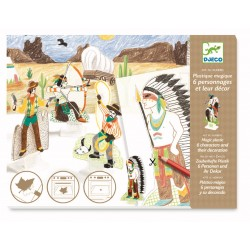Figurine magice Djeco Indieni