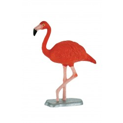 Figurina Flamingo rosu