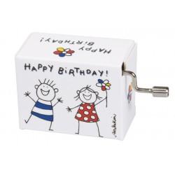 Flasneta Fridolin Happy birthday