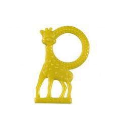 Inel dentitie vanilie in cutie cadou Girafa Sophie Verde