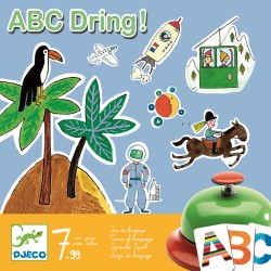 Joc de societate abecedar - ABC Dring Djeco