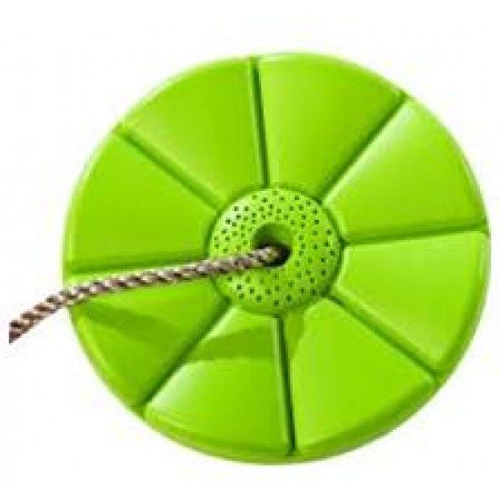 Leagan rotund din plastic - Monkey - Lime Green