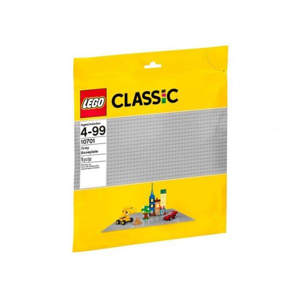 LEGO Classic - Placa de baza gri LEGO 10701