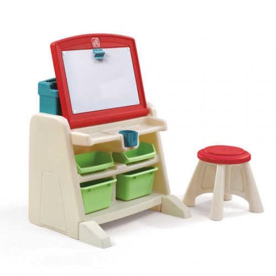 Birou copii Flip Doodlle Easel Desk - STEP2