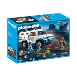 Masina de politie blindata - Playmobil