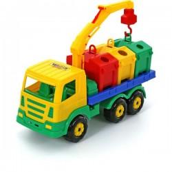 Masina salubrizare cu containere Supertruck