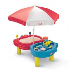 Masuta pentru nisip si apa cu umbreluta - Little Tikes