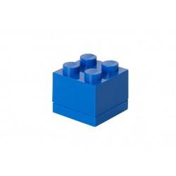 Mini cutie depozitare LEGO 2x2 - Albastru inchis