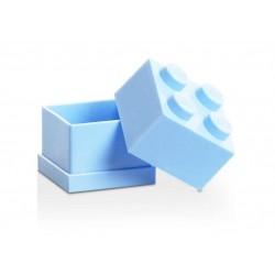 Mini cutie depozitare LEGO 2x2 - Albastru deschis
