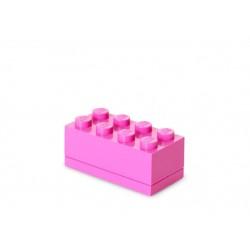 Mini cutie depozitare LEGO 2x4 - Roz