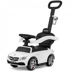 Masinuta copii 3 in 1 Mercedes AMG C63 white