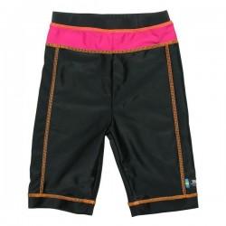 Pantaloni de baie pink black marime 92-104 protectie UV Swimpy