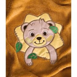 Paturica Forest Animals 100x75 cm Brown