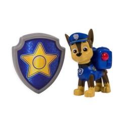 Figurine Paw Patrol asortate - Catelusi cu insigna