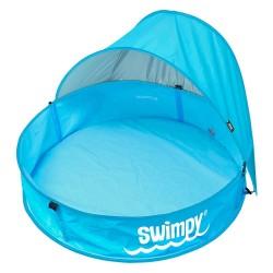 Piscina pentru bebelusi cu acoperis si protectie UPF50+ Swimpy