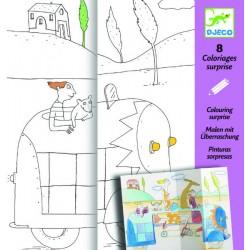 Planse de desenat Ascunselea Djeco