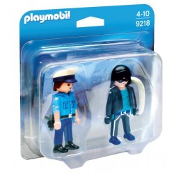 Politist si hot - Playmobil