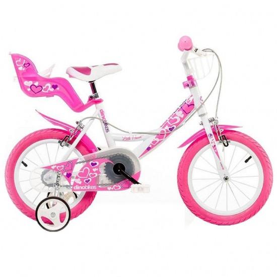 Bicicleta copii 14 inch Dino Bikes 146 RN