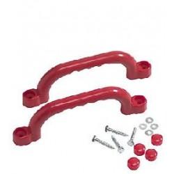 Manere din plastic 25 cm - Rosu