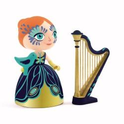 Printesa Elisa cu harpa