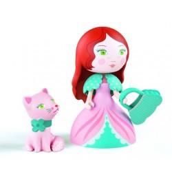 Printesa Rosa cu pisicuta