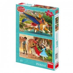Puzzle 2 in 1 - Elena din Avalor - 66 piese
