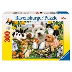 PUZZLE ANIMALE PRIETENOASE, 300 PIESE