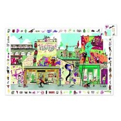 Puzzle observatie Djeco Street art