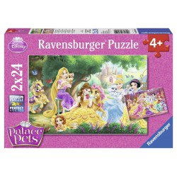PUZZLE PALACE PETS 2x24 PIESE
