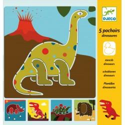 Sabloane Djeco Dinozauri