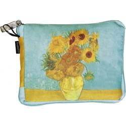 Sacosa textil Van Gogh Sunflowers