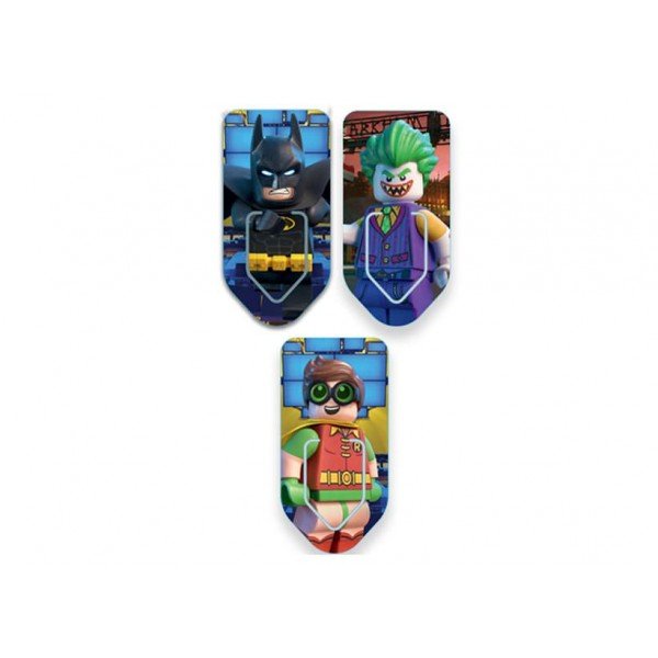 Set 3 semne de carte LEGO Batman Movie (51762)