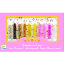 Set confectionat bijuterii Djeco - Margele, flori