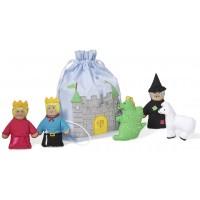 Set marionete pentru degete Castelul
