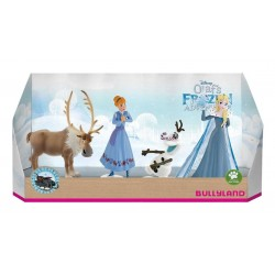 Set 4 figurine Olafs Frozen Adventure
