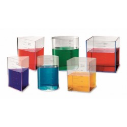Set recipiente pentru laborator (capacitate 1 l)