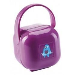 Cutie portabila pentru suzeta Purple - Thermobaby