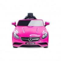 Masinuta electrica Toyz Mercedes-Benz S63 AMG 12V cu telecomanda Pink